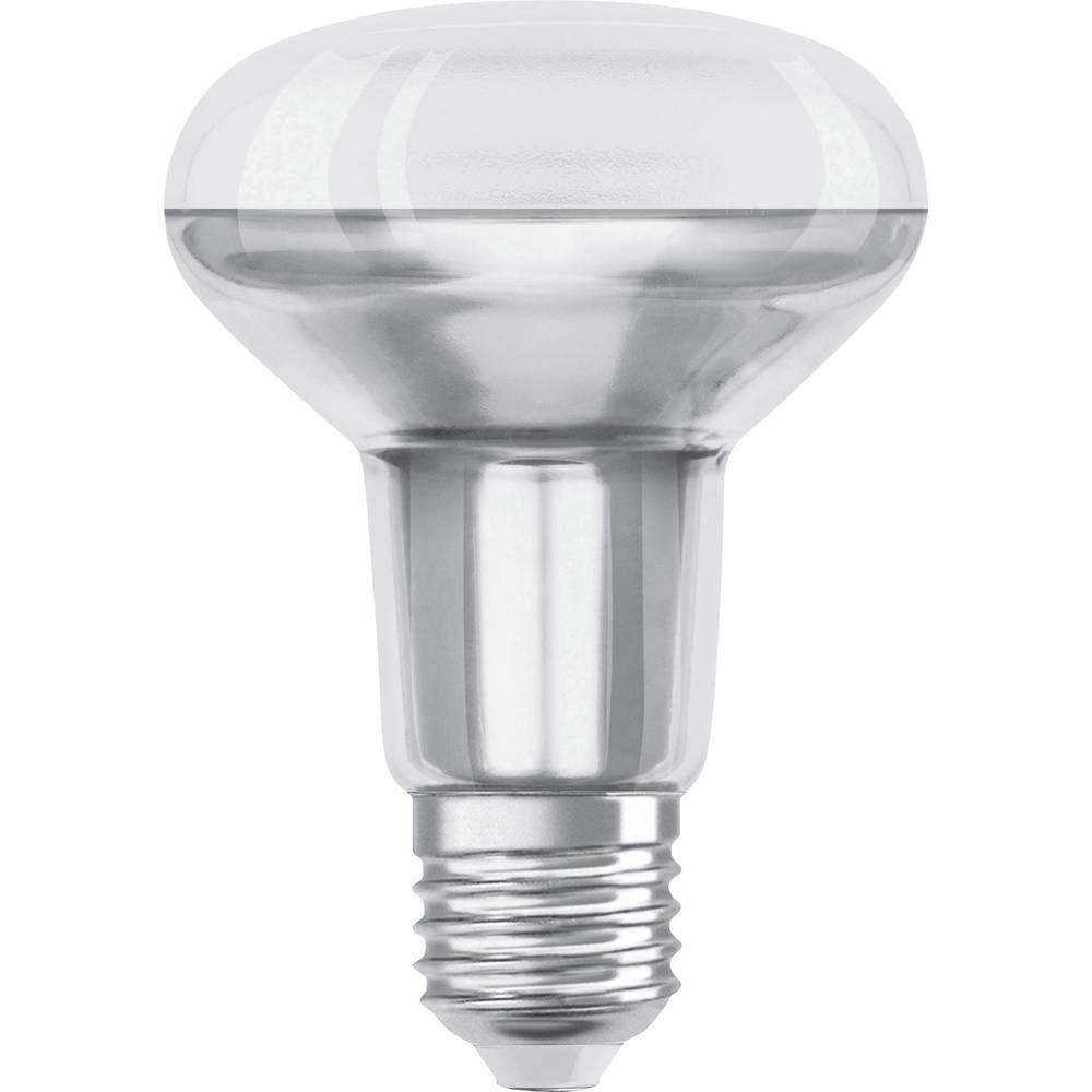 OSRAM 4058075097124 LED en.třída A+ (A++ - E) E27 reflektor 4.3 W = 60 W teplá bílá (Ø x d) 80 mm x 115 mm 1 ks