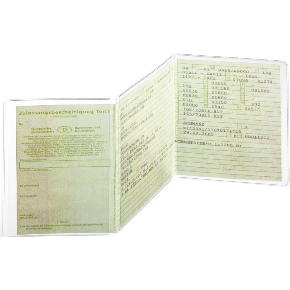 Durable pouzdro na doklady, oochranné pouzdro 2142 fólie 210 x 105 mm (š x v) transparentní 214219 1 ks