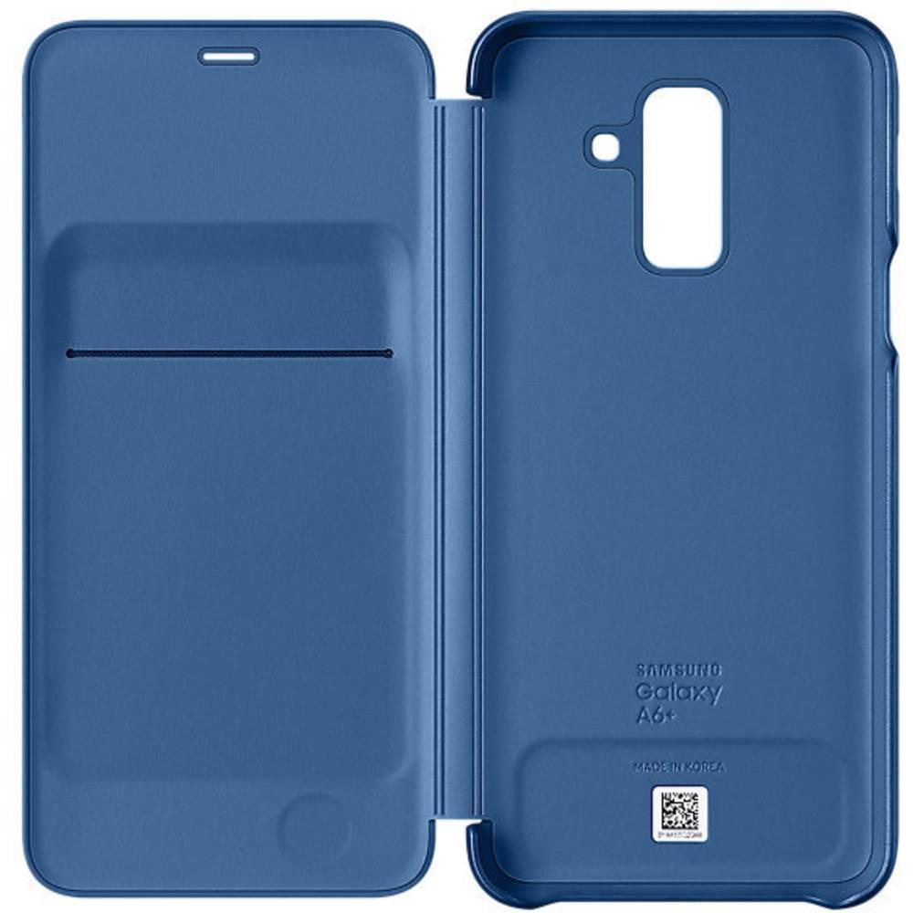 Samsung Wallet Cover Booklet Samsung Galaxy A6 Plus (2018) modrá