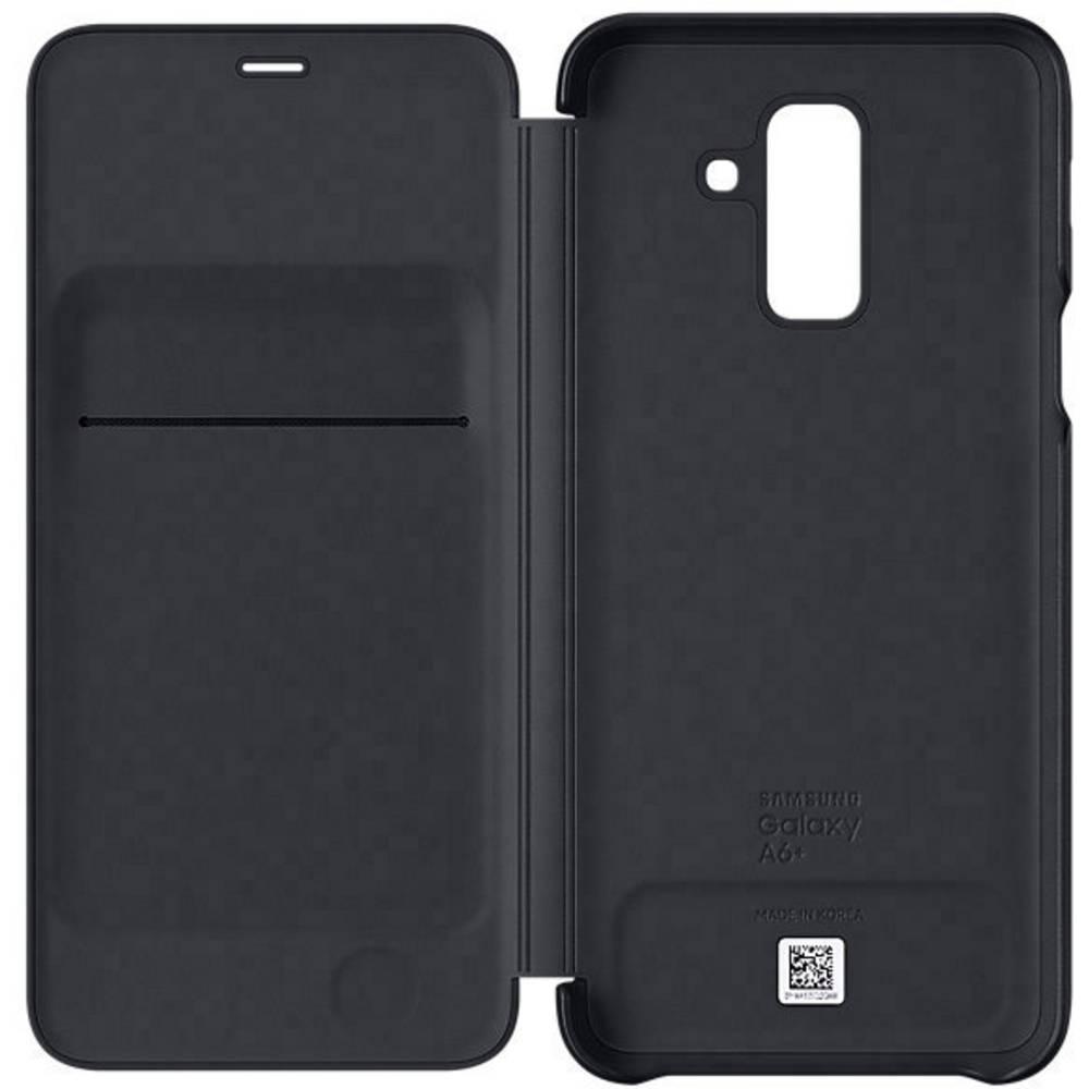 Samsung Wallet Cover Booklet Samsung Galaxy A6 Plus (2018) černá