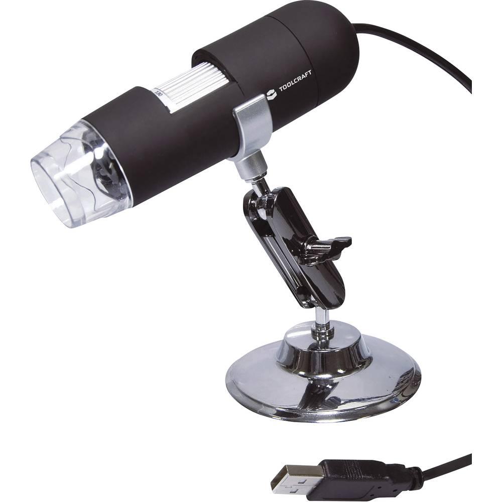 TOOLCRAFT USB mikroskop 2 Megapixel Digitální zvětšení (max.): 200 x