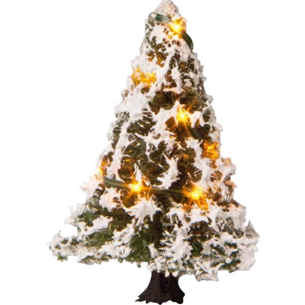 NOCH 22110 strom rozsvícený vánoční stromeček 50 mm 1 ks