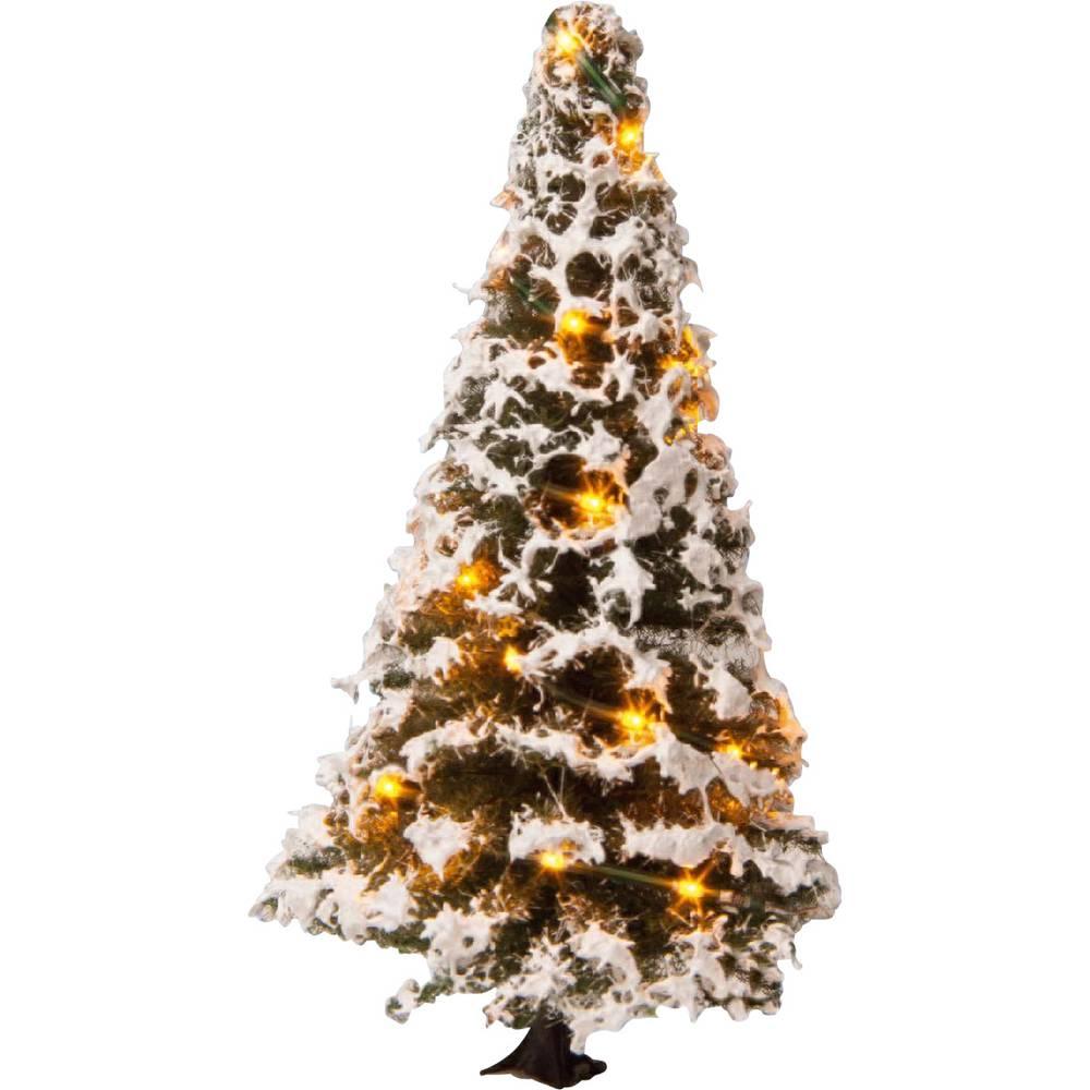 NOCH 22120 strom rozsvícený vánoční stromeček 80 mm 1 ks
