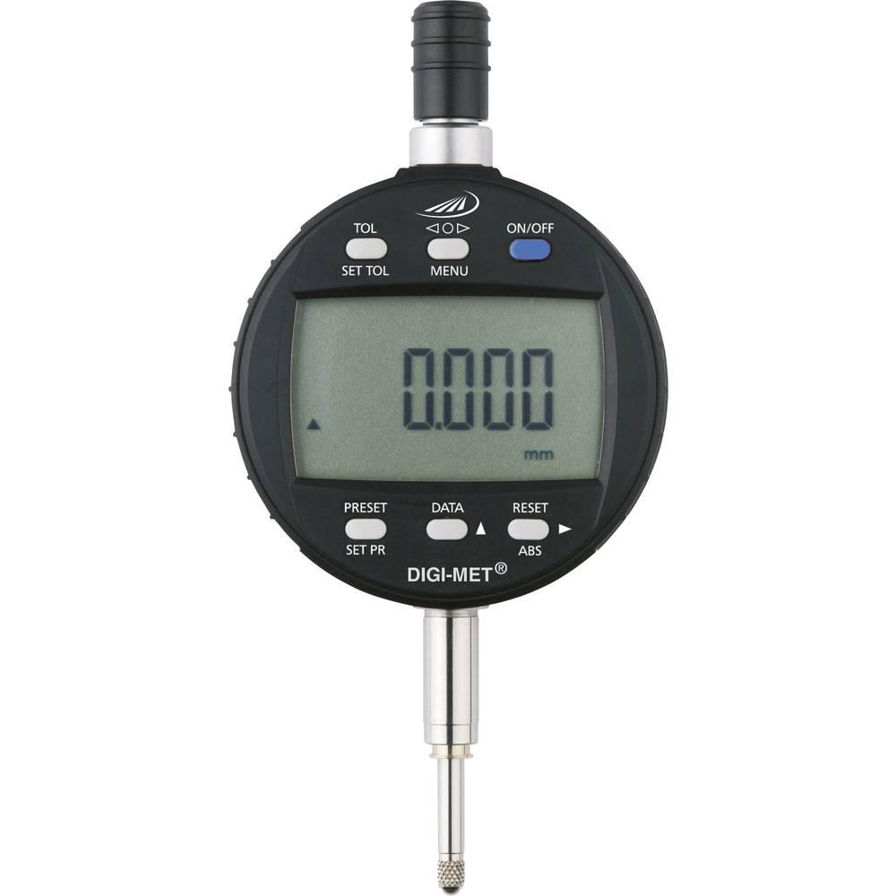 HELIOS PREISSER 1726506 stopky s digitálním displejem 25.0 mm Odečet: 0.001 mm