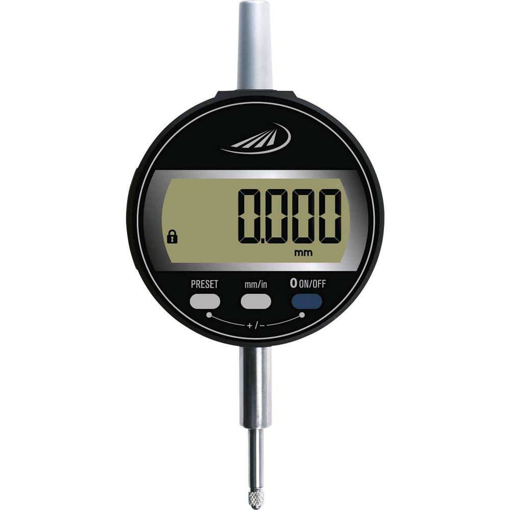 HELIOS PREISSER 1724502 stopky s digitálním displejem 12.5 mm Odečet: 0.001 mm