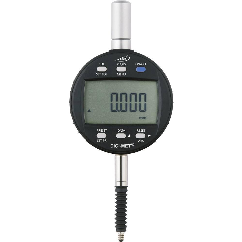 HELIOS PREISSER 1730502 stopky s digitálním displejem 12.5 mm Odečet: 0.001 mm