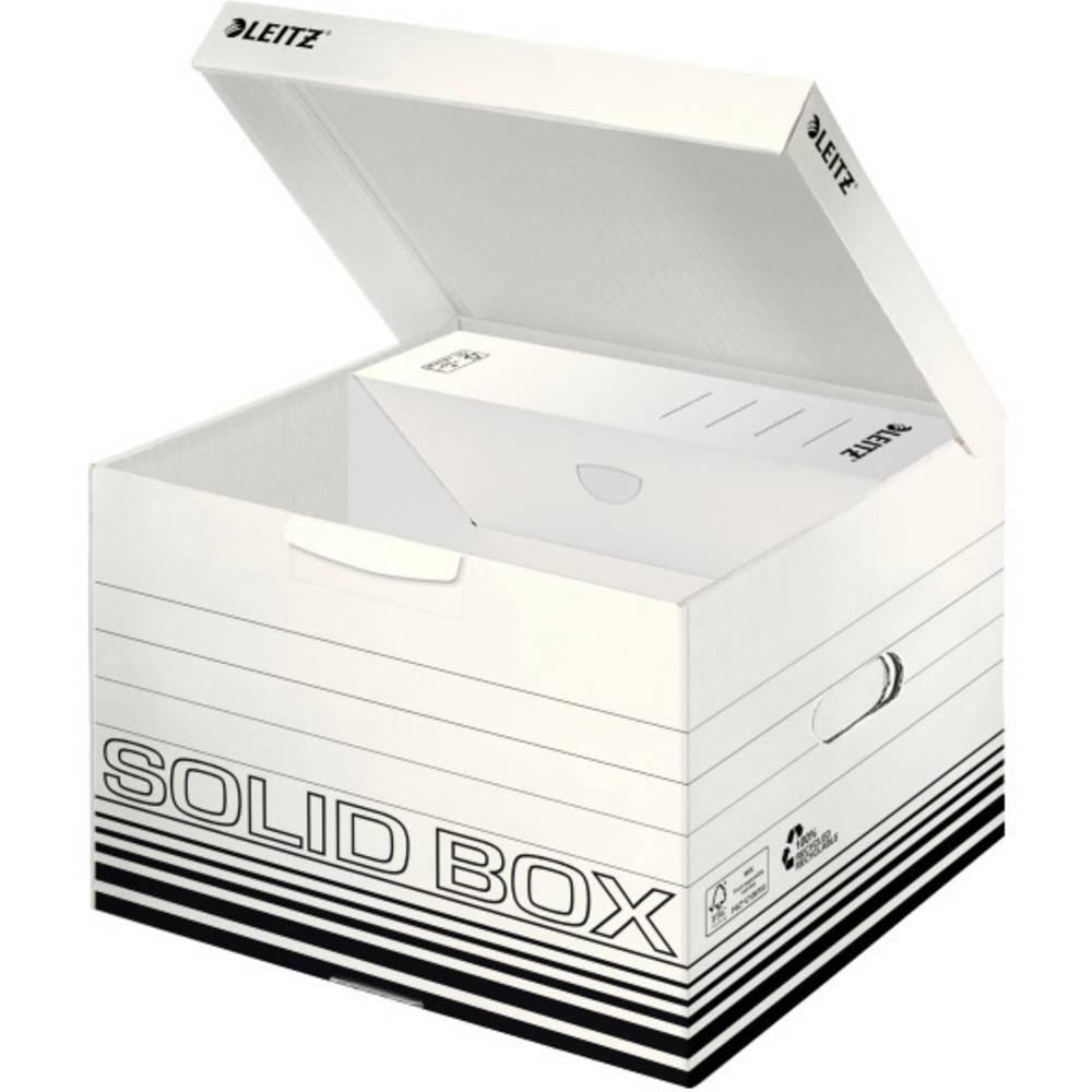Leitz archivační box 6118-00-01 karton bílá, černá 10 ks