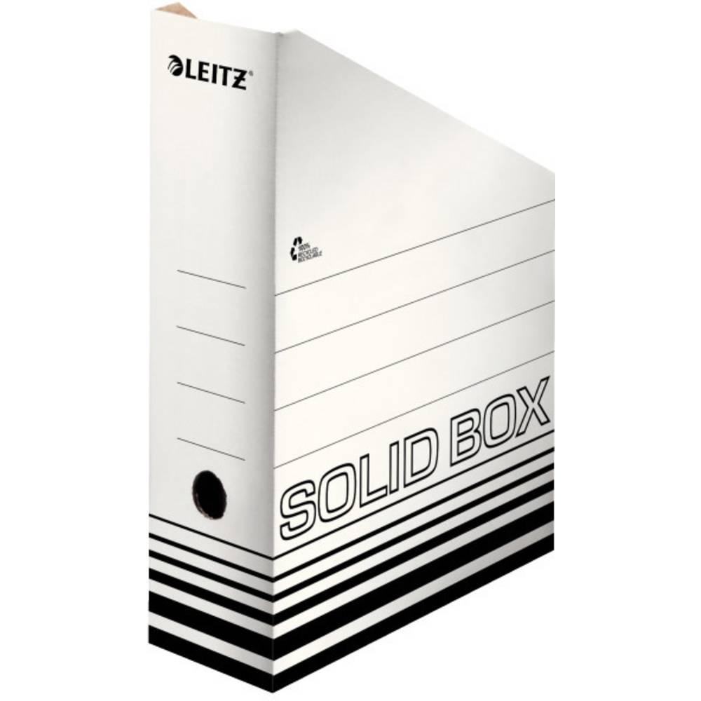 Leitz SOLID 4607 4607-00-01 stojací pořadač na dokumenty DIN A4 bílá, černá karton 1 ks