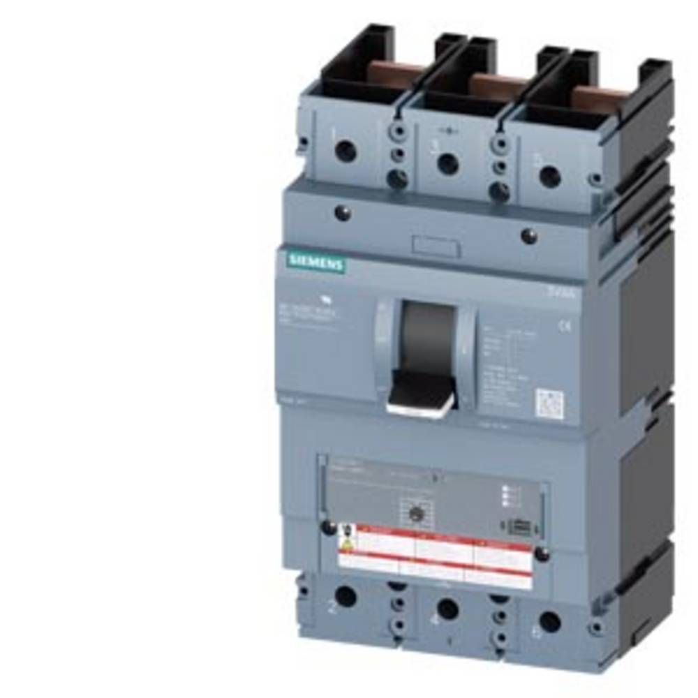 Siemens 3VA6440-1MS31-0AA0 výkonový vypínač 1 ks Rozsah nastavení (proud): 400 A (max) Spínací napětí (max.): 600 V/AC (š x v x h) 138 x 248 x 110 mm