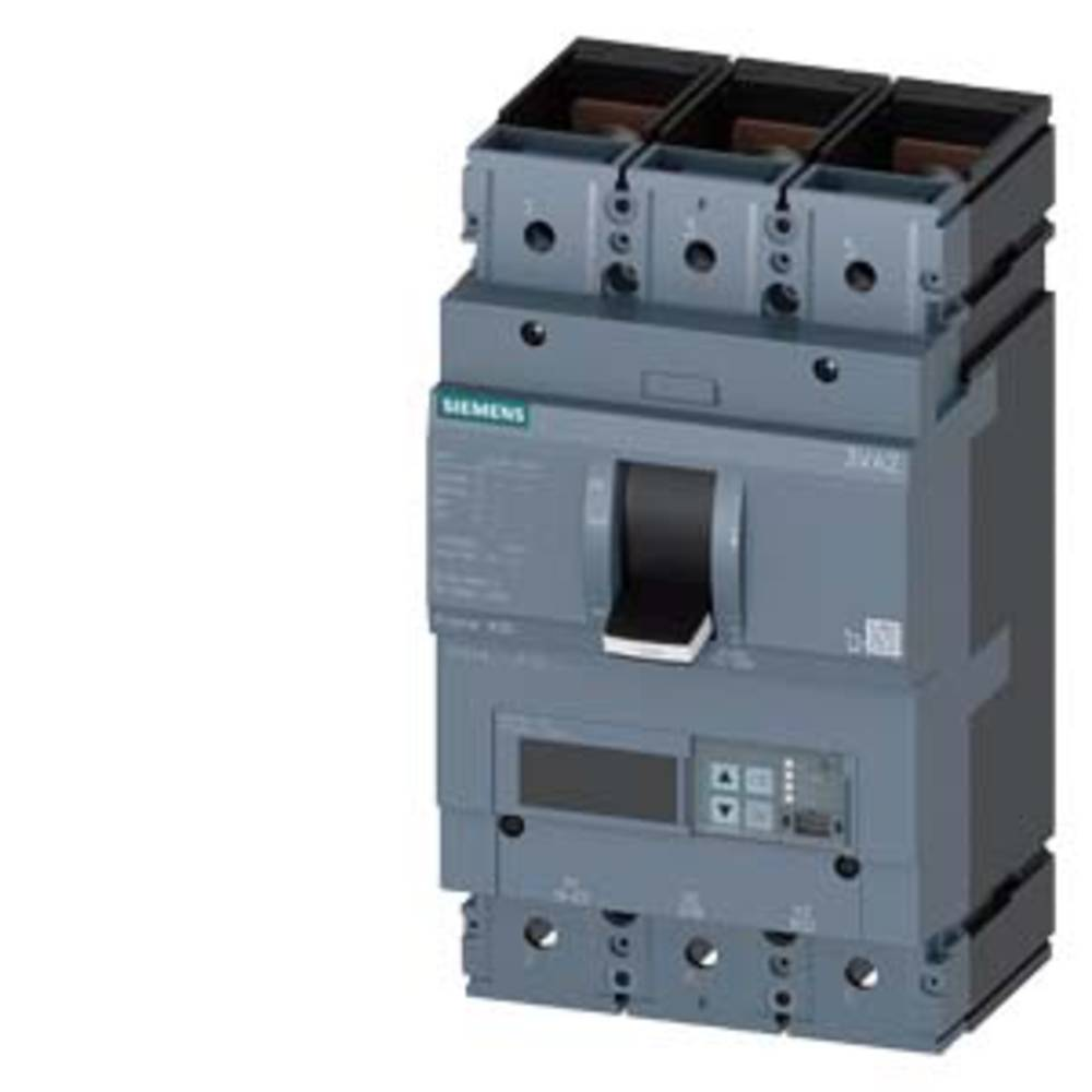 Siemens 3VA2463-6JP32-0KH0 výkonový vypínač 1 ks 3 přepínací kontakty Rozsah nastavení (proud): 250 - 630 A Spínací napětí (max.): 690 V/AC (š x v x h) 138 x 248 x 110 mm