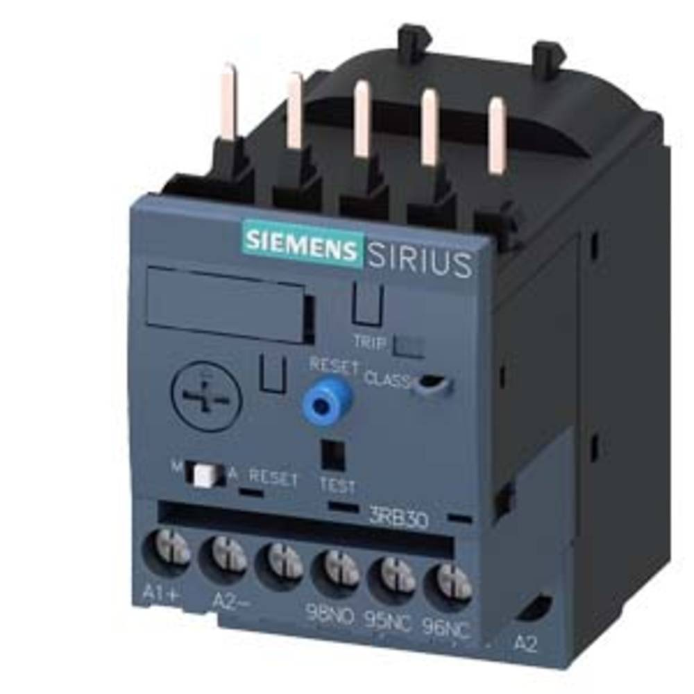 přepěťové relé 1 spínací kontakt, 1 rozpínací kontakt Siemens 3RB3016-2SB0 1 ks