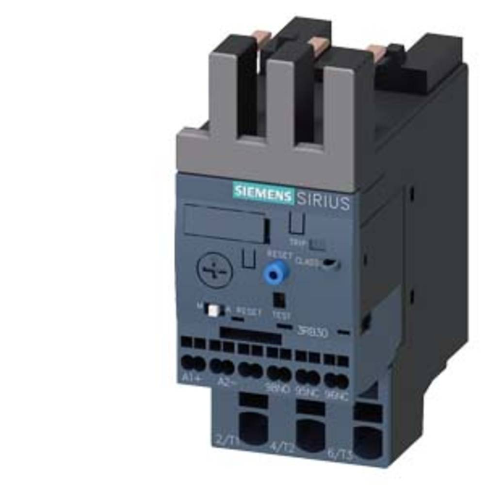 přepěťové relé 1 spínací kontakt, 1 rozpínací kontakt Siemens 3RB3026-1PE0 1 ks