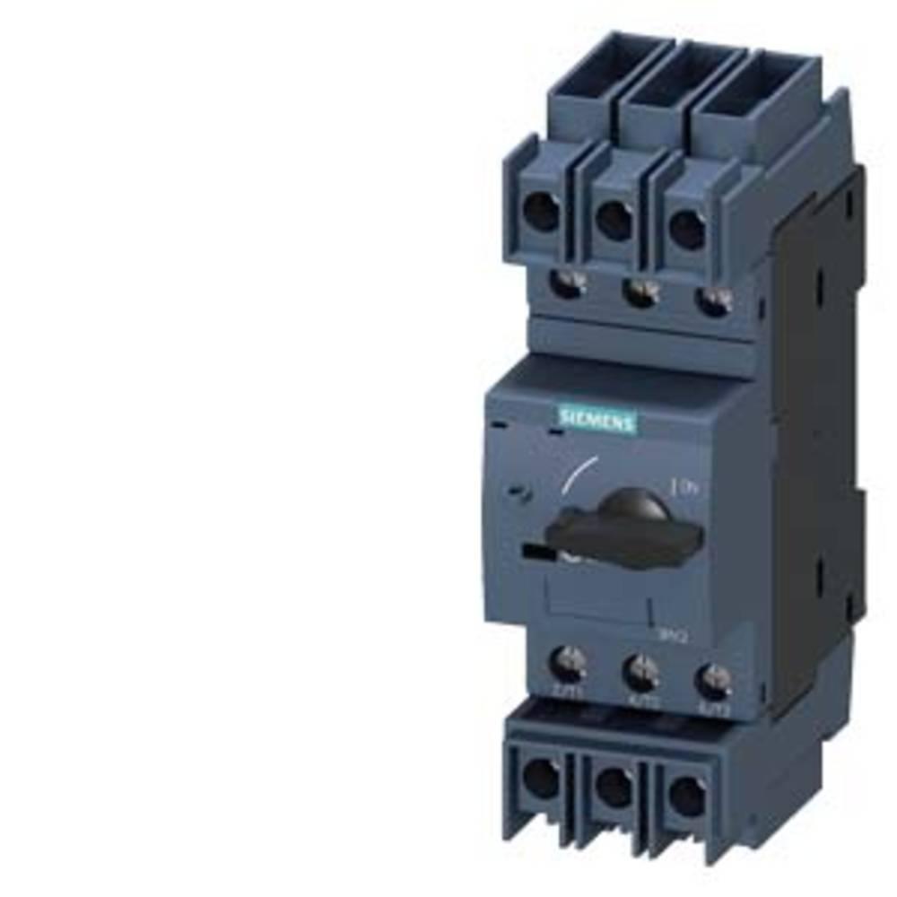 Siemens 3RV2711-0FD10 výkonový vypínač 1 ks Rozsah nastavení (proud): 0.5 A (max) Spínací napětí (max.): 690 V/AC (š x v x h) 45 x 144 x 97 mm