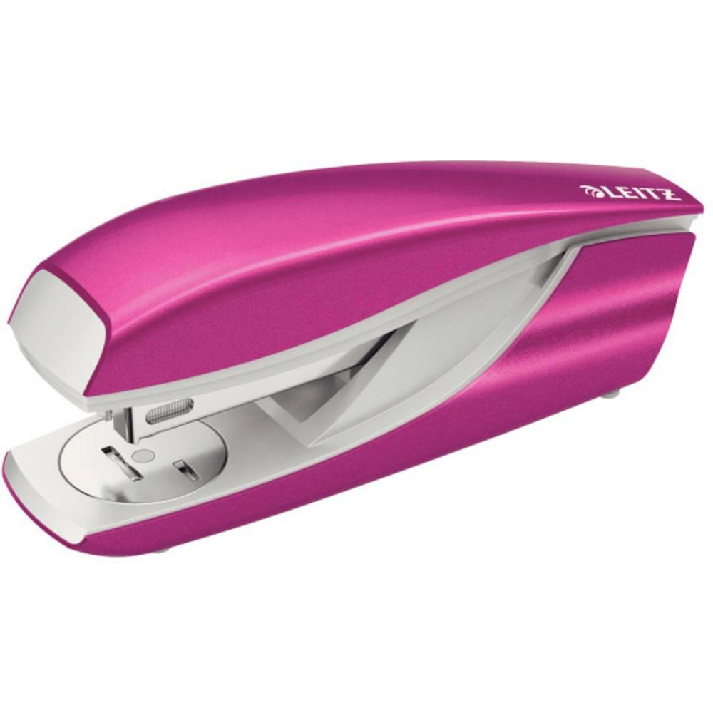 Leitz 5502 New NeXXt WOW 55021023 sešívačka růžová (metalíza) Vázací výkon: 30 listů (80 g/m²)