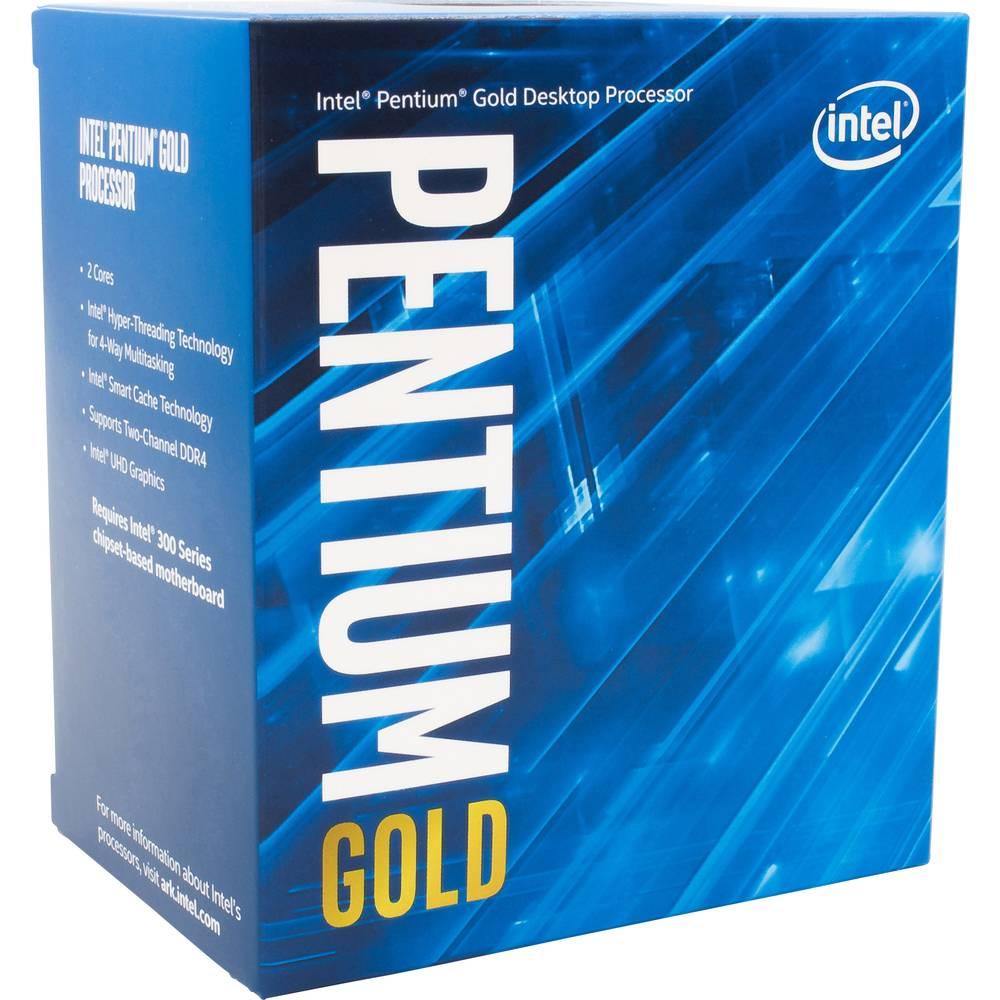 Intel® Pentium® Gold G6400 2 x 4 GHz Dual Core Procesor (CPU) v boxu Socket: Intel® 1200 58 W
