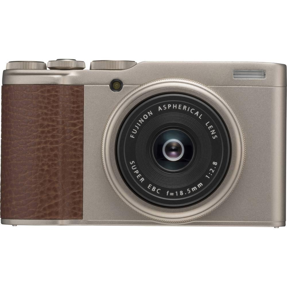 Fujifilm XF10 digitální fotoaparát 24.2 MPix zlatá 4K video, s dotykovým displejem