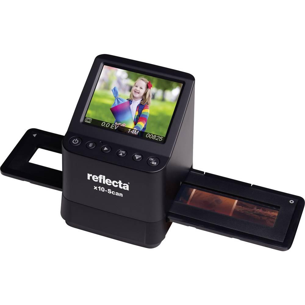Reflecta x10-Scan skener negativů 14 MPix digitalizace bez PC, displej, se zásuvkou pro paměťová média, TV výstup