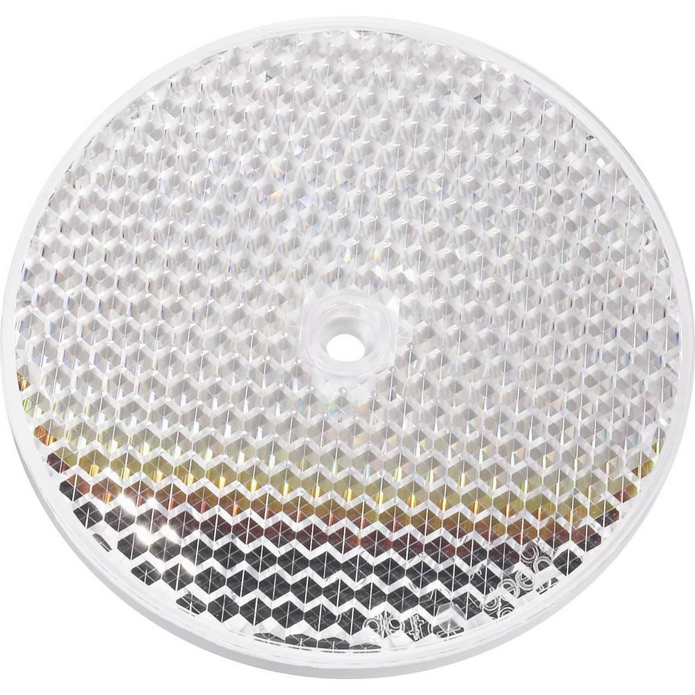 Vhodný reflektor pro světelnou závoru s objednacím číslem 17 84 89 a 17 85 26. Idec IAC-E800-91 Reflexní hranolový zrcadlo