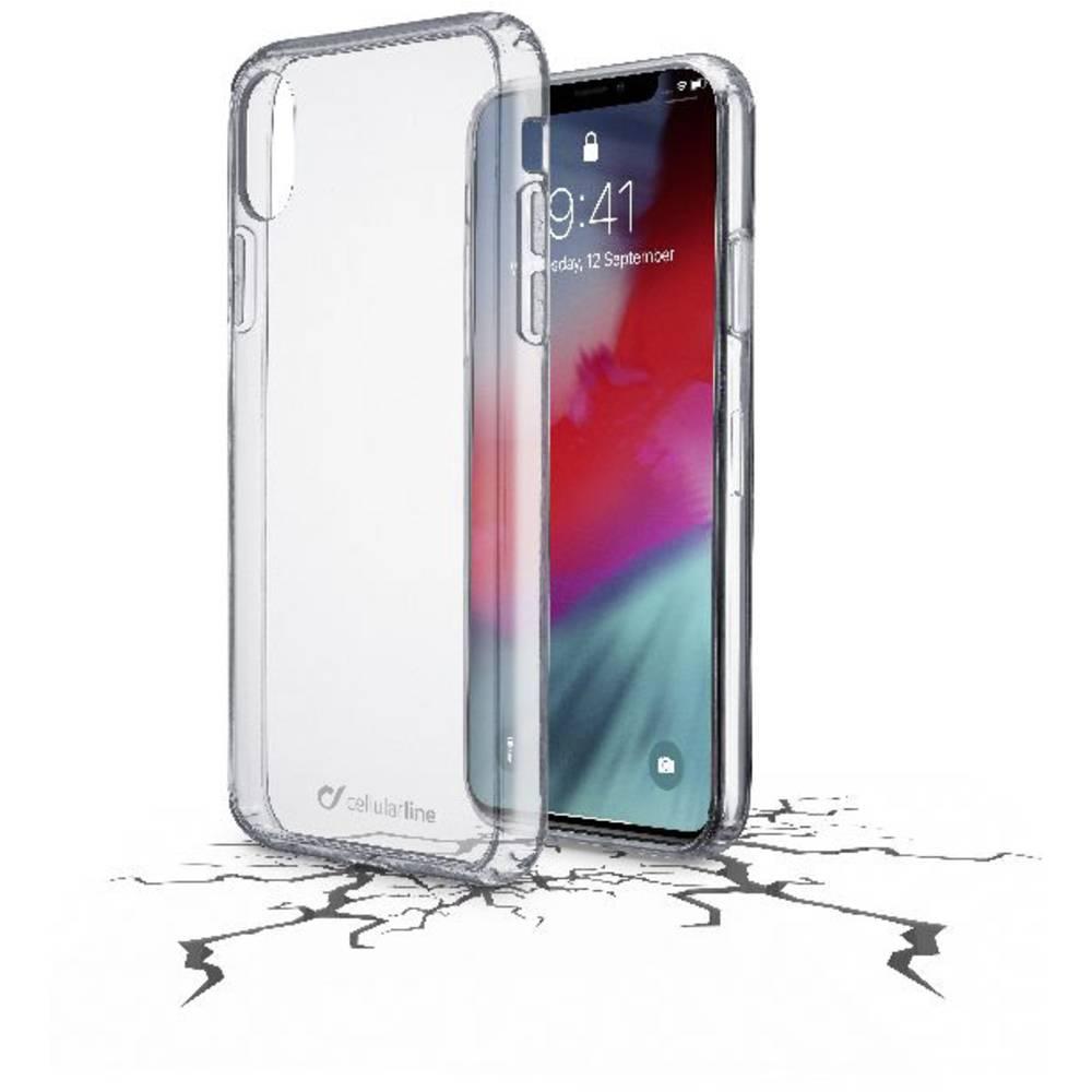 Cellularline Clear Duo zadní kryt na mobil Apple iPhone XR transparentní