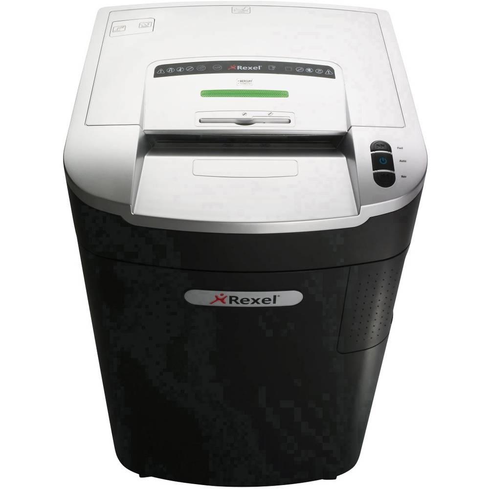 Rexel Mercury RLS32 skartovačka na proužky 5.8 mm 115 l Počet listů (max.): 34 Stupeň zabezpečení (skartovač) 2 Křížový řez kancelářské sponky, sponky do sešívačky, CD, DVD, kreditní karty