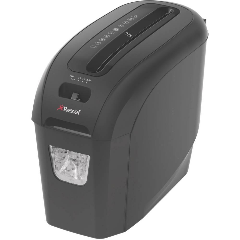 Rexel Style skartovačka na proužky 6 mm 7.5 l Počet listů (max.): 5 Stupeň zabezpečení (skartovač) 4 Křížový řez kancelářské sponky, sponky do sešívačky, kreditní karty