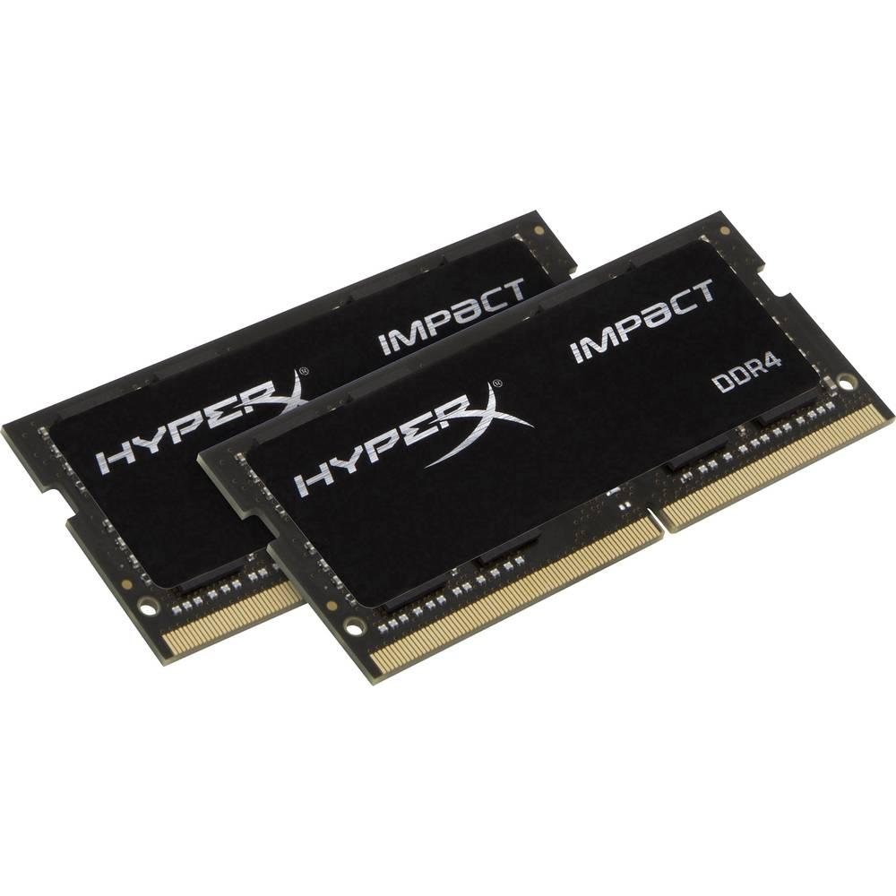 Kingston Sada RAM pamětí pro notebooky Impact HX426S15IB2K2/16 16 GB 2 x 8 GB DDR4-RAM 2666 MHz CL15