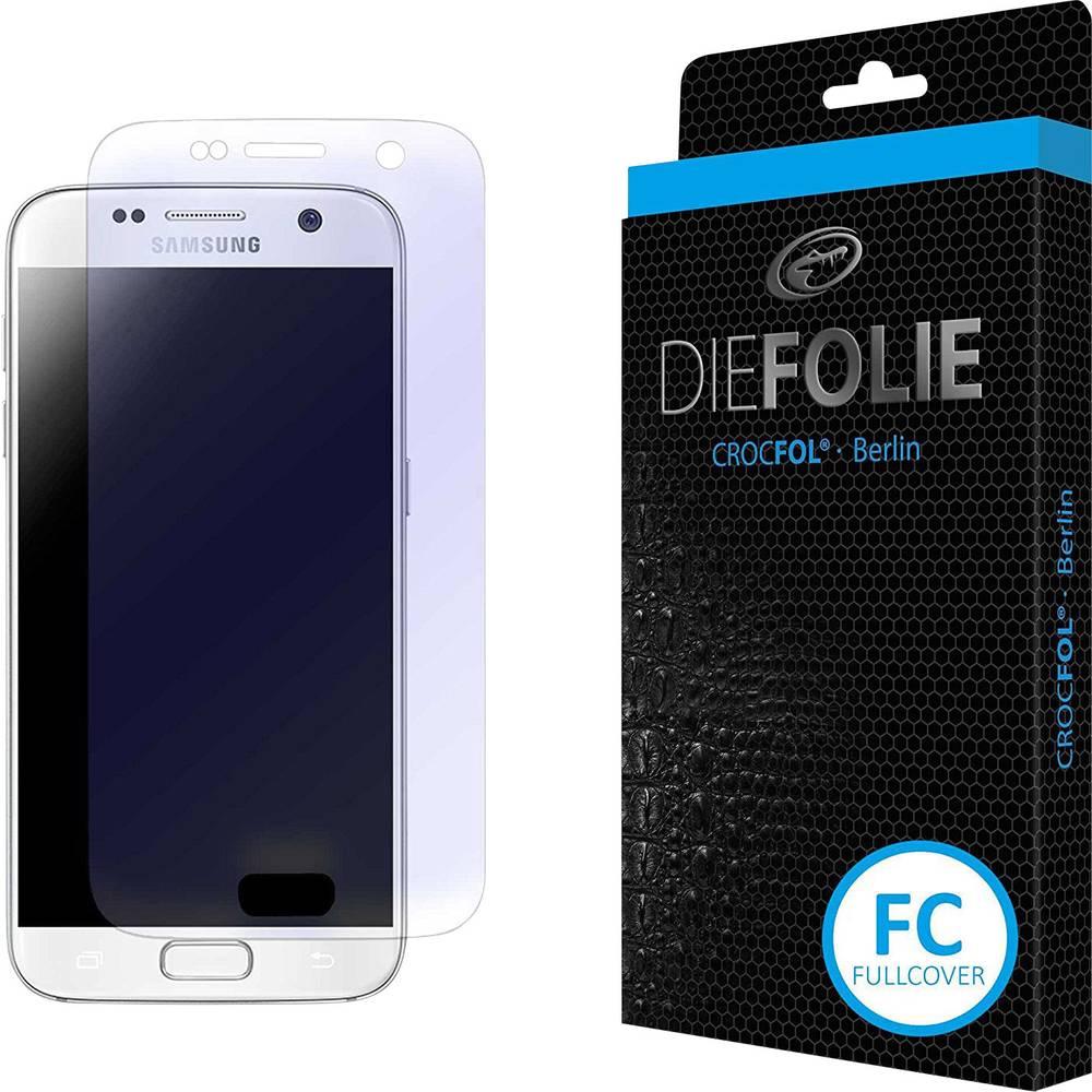Crocfol Die Folie Fullcover ochranná fólie na displej smartphonu Vhodné pro: Samsung Galaxy S7