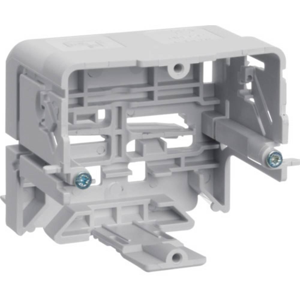Hager GLT5010 parapetní lišta montážní elektroinstalační krabice (d x š) 71 mm x 64 mm 1 ks šedobílá (RAL 7035)