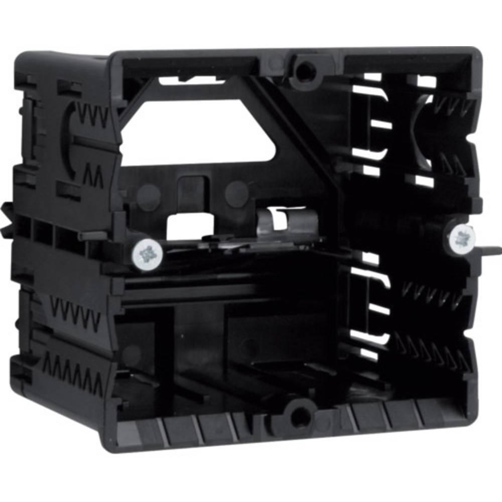 Hager GLS5500 parapetní lišta montážní elektroinstalační krabice (d x š) 71 mm x 65 mm 1 ks černá