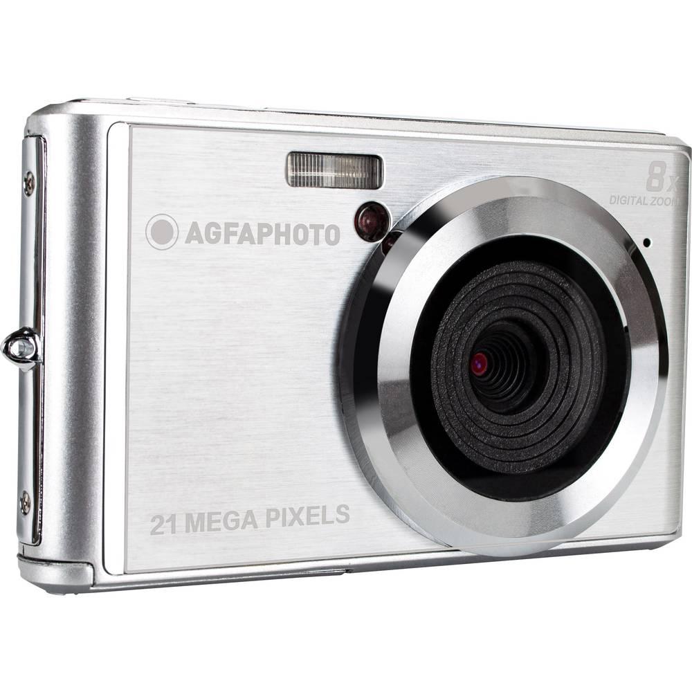 AgfaPhoto DC5200 digitální fotoaparát 21 MPix stříbrná
