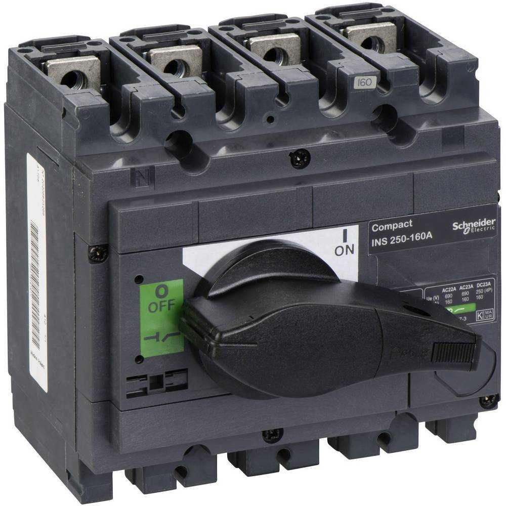 Schneider Electric 31105 odpínač 160 A 250 V/DC, 690 V/AC 1 ks