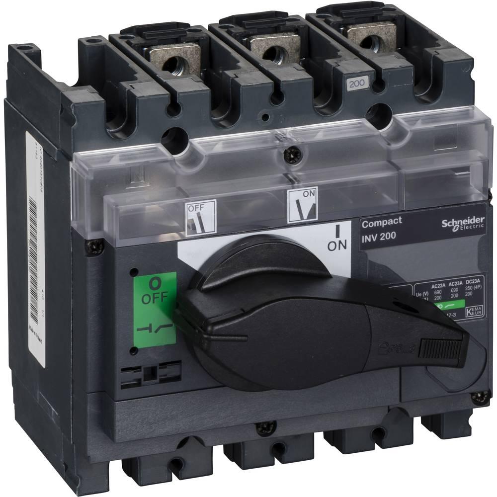 Schneider Electric 31162 odpínač 200 A 125 V/DC, 690 V/AC 1 ks