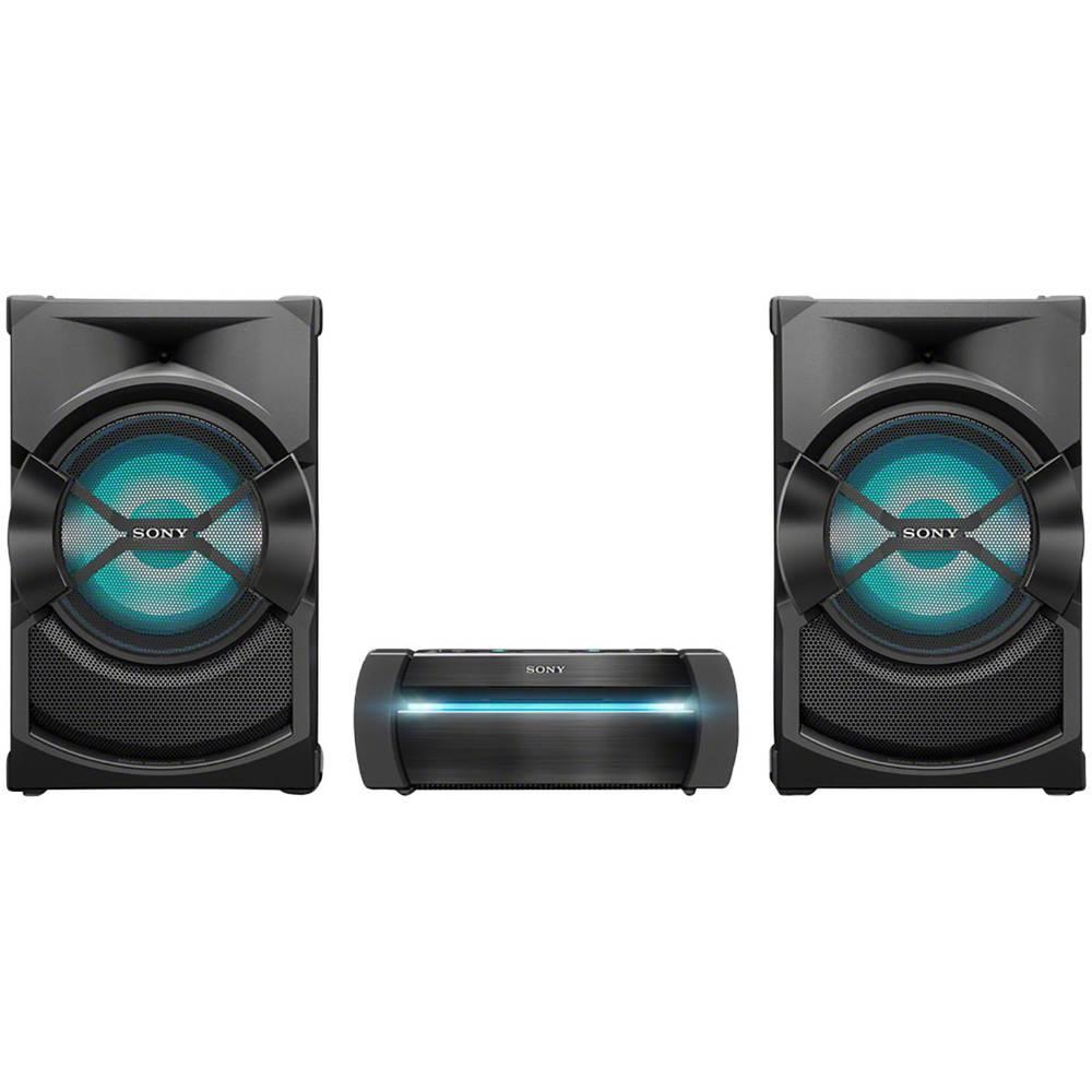 Sony Shake X30D stereo systém Bluetooth, DVD, NFC, FM, USB, vč. karaoke, ambient light černá