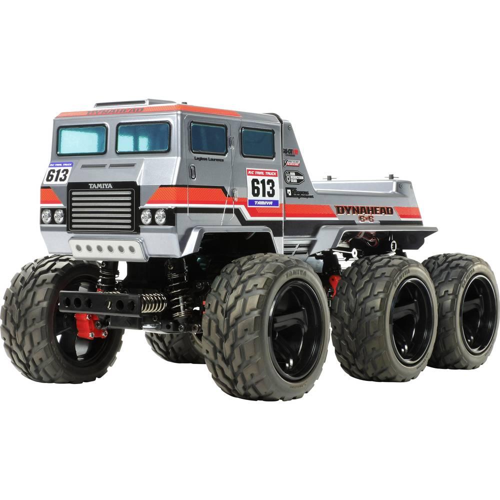 Tamiya Dynahead 6x6 komutátorový 1:18 RC model auta elektrický monster truck 4WD (4x4) stavebnice