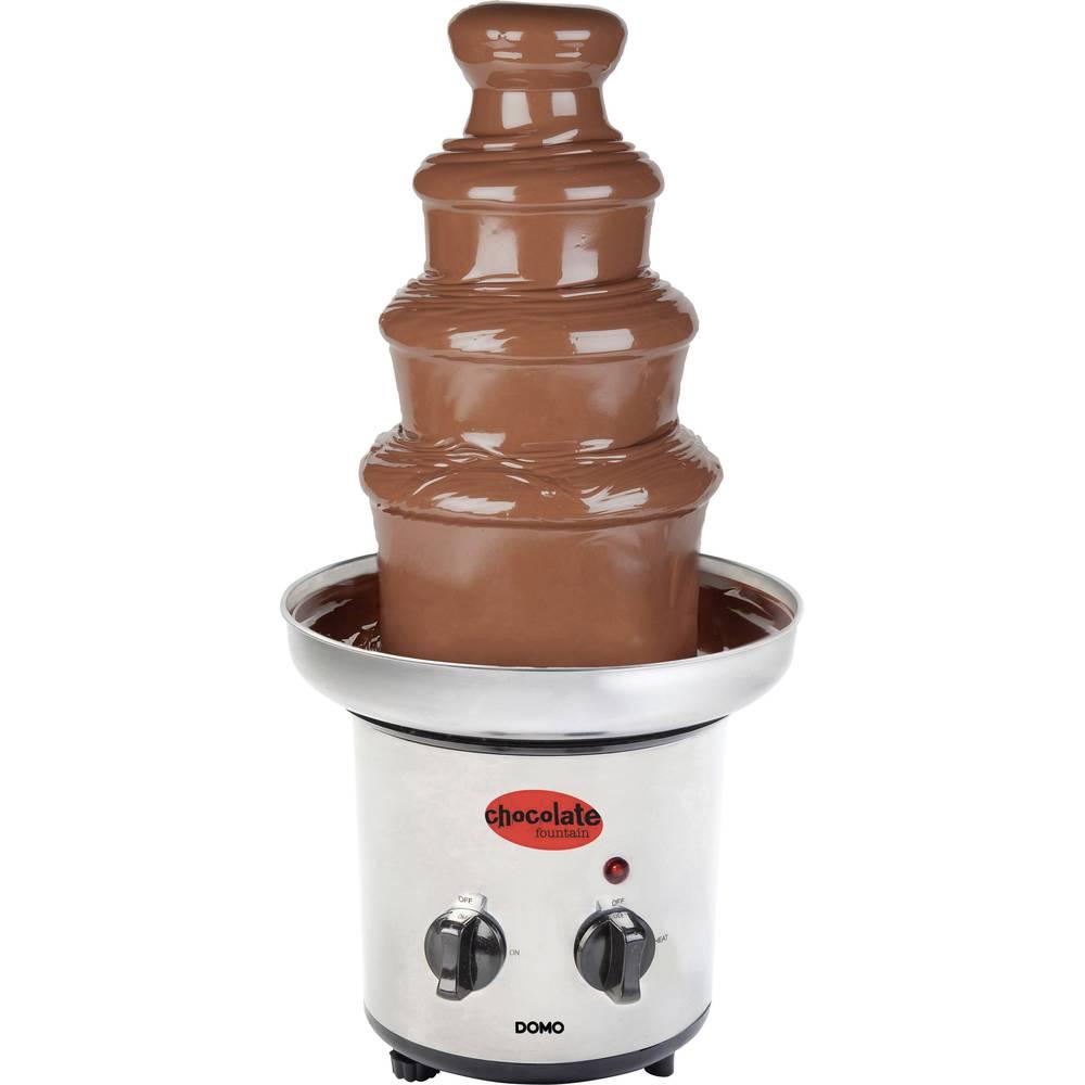 DOMO čokoládová fontána nerezová ocel