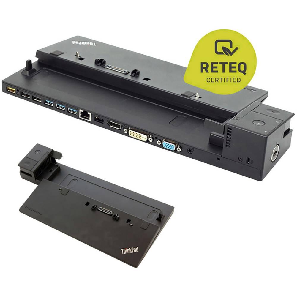 Lenovo dokovací stanice pro notebook repasované, stav velmi dobrý ThinkPad ProDock 40A1 inklusive Netzteil vhodné pro značky: Lenovo vč. zámku Kensington