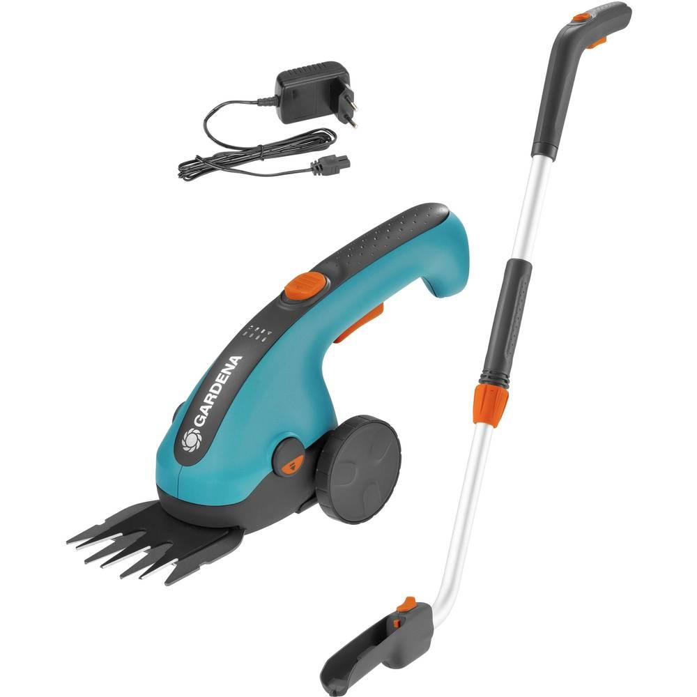 GARDENA ClassicCut akumulátor nůžky na trávu + akumulátor, s prodloužením, pojízdný 3.60 V Li-Ion akumulátor