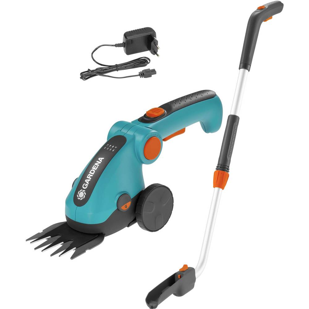 GARDENA ComfortCut akumulátor nůžky na trávu + akumulátor, s prodloužením, pojízdný 3.60 V Li-Ion akumulátor