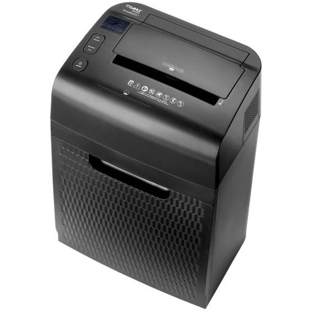 Dahle Autofeed ShredMATIC® 35120 skartovačka na kousky 3 x 9 mm 28 l Počet listů (max.): 120 Stupeň zabezpečení (skartovač) 5 Křížový řez CD, DVD, kancelářské sponky, kreditní karty