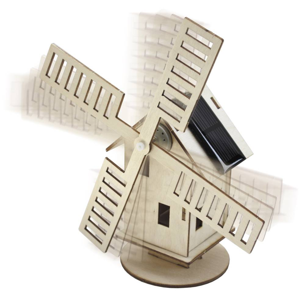 Sol Expert 40009 solární větrný mlýn