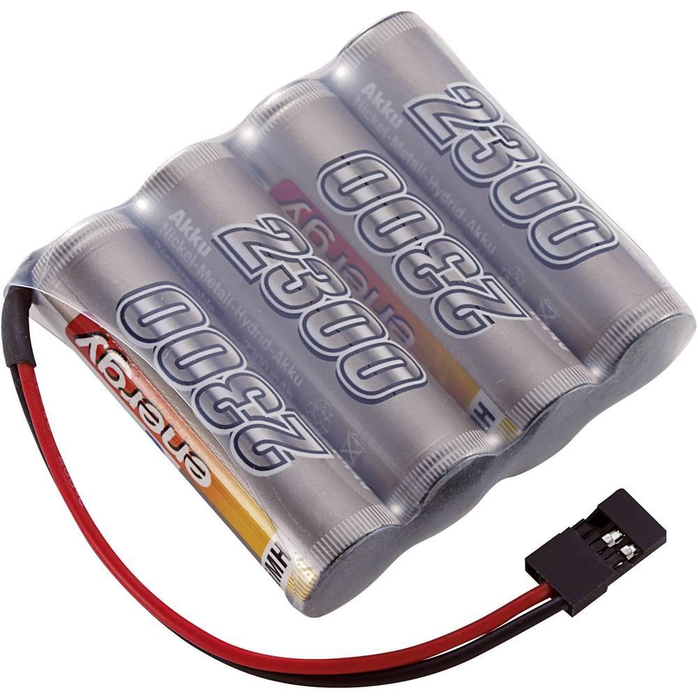 Conrad energy akupack přijímače (modelářství) 4.8 V 2300 mAh Side by Side zásuvka JR