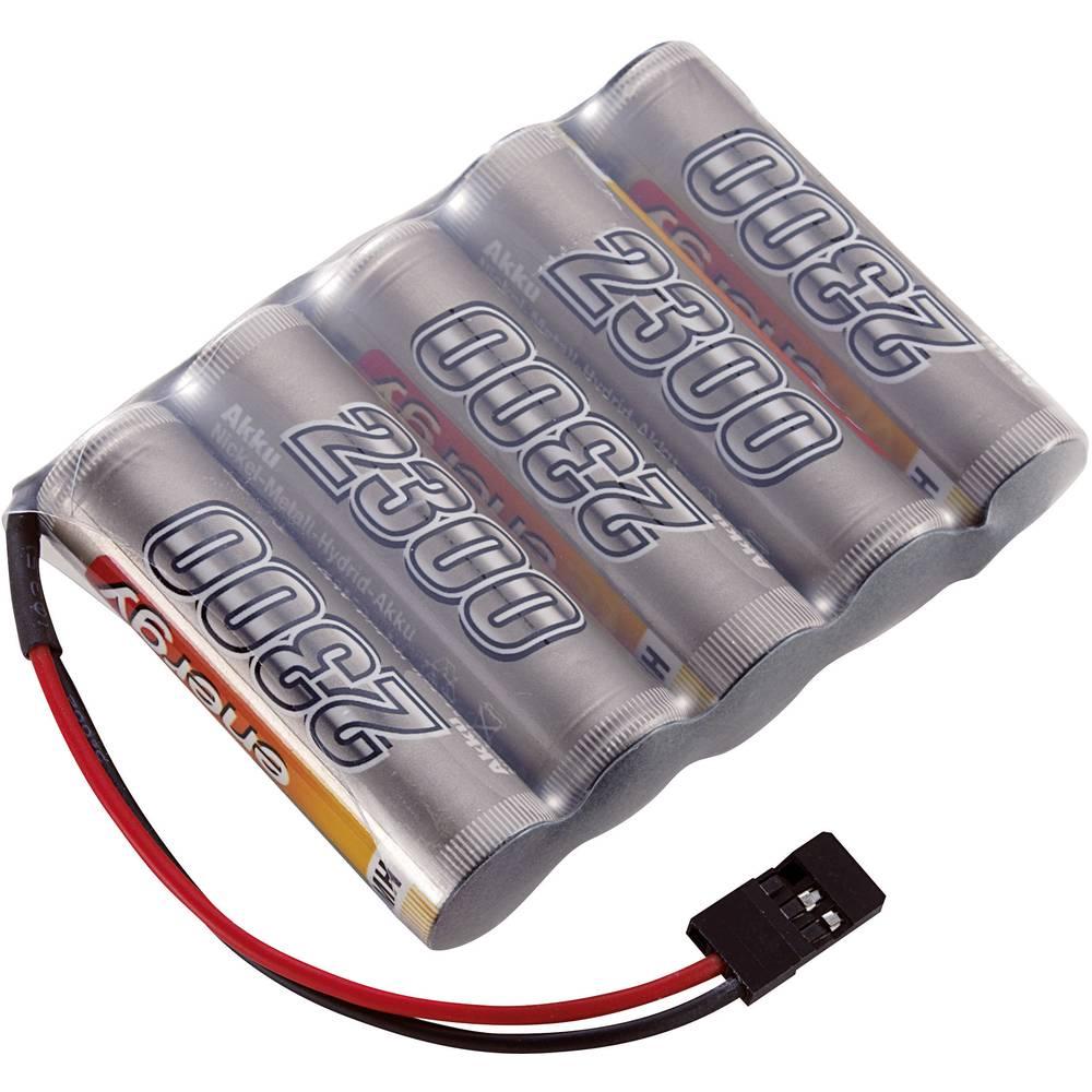Conrad energy akupack přijímače (modelářství) 6 V 2300 mAh Side by Side zásuvka JR