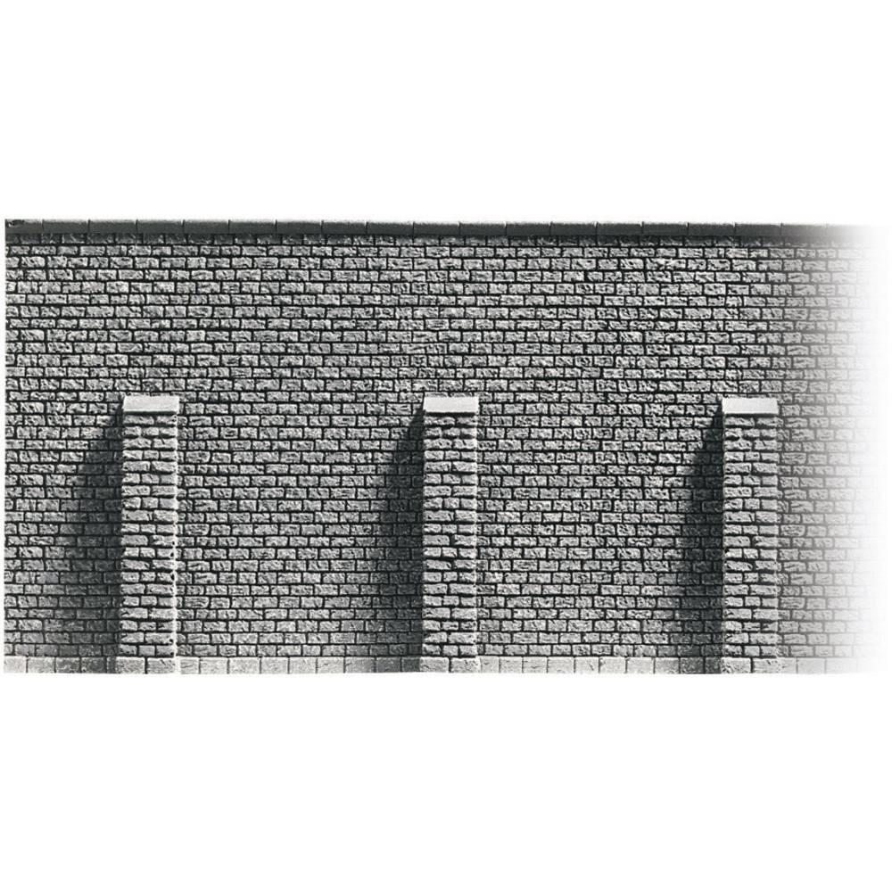 NOCH 58046 H0 cihlová zeď opěrná zeď