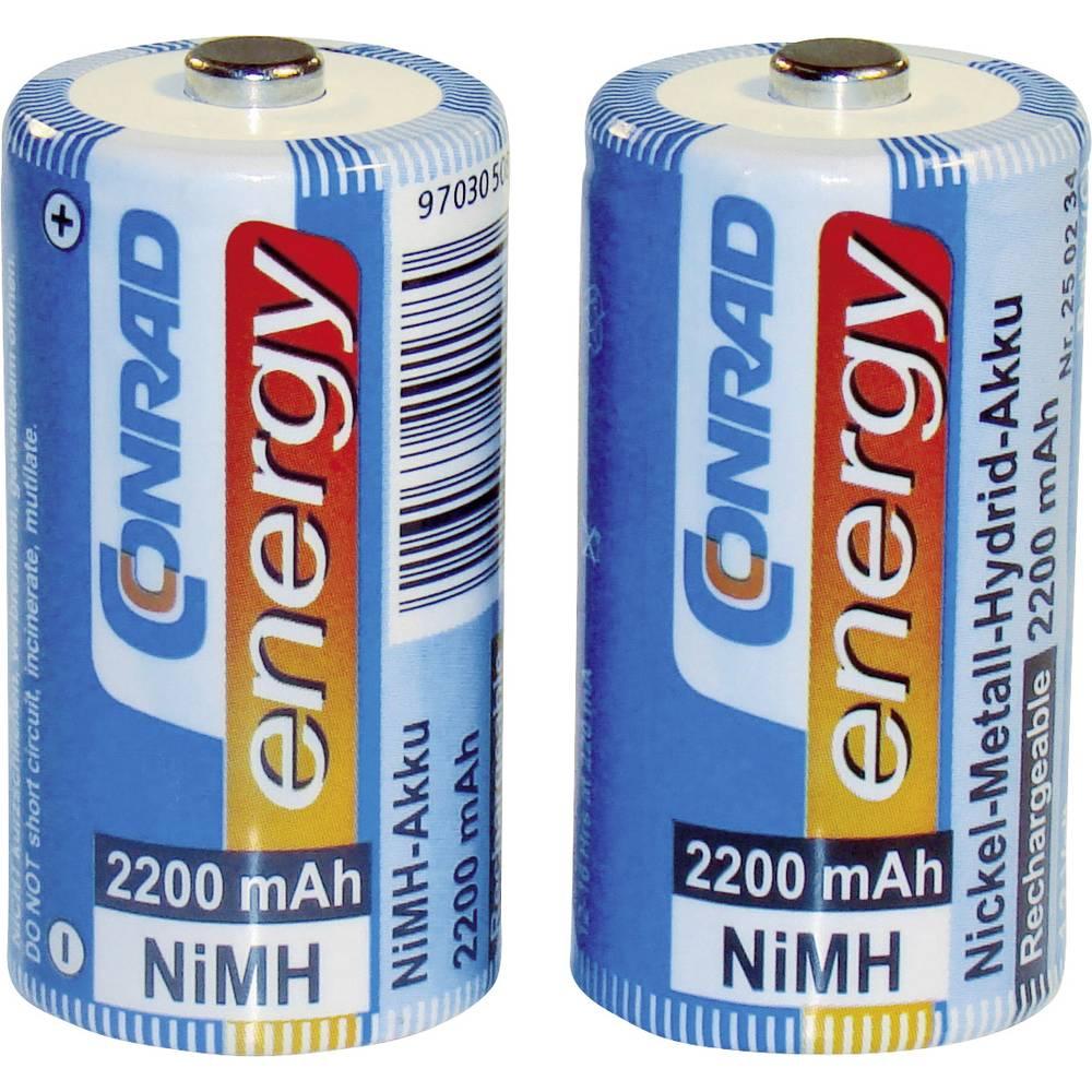 Conrad energy HR14 akumulátor malé mono C Ni-MH 2200 mAh 1.2 V 2 ks