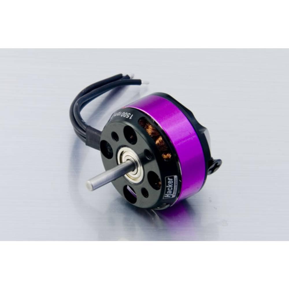 Hacker A20-34 S EVO brushless elektromotor pro modely letadel kV (ot./min /V): 1500 počet závitů: 34