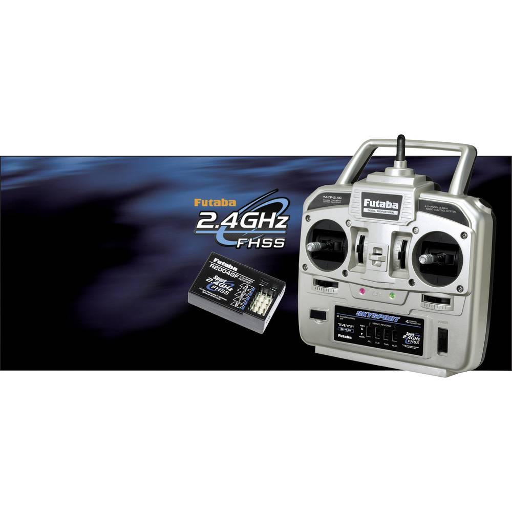 Futaba Skysport T4YF Ruční dálkové ovládání 2,4 GHz Kanálů: 4 vč. přijímače