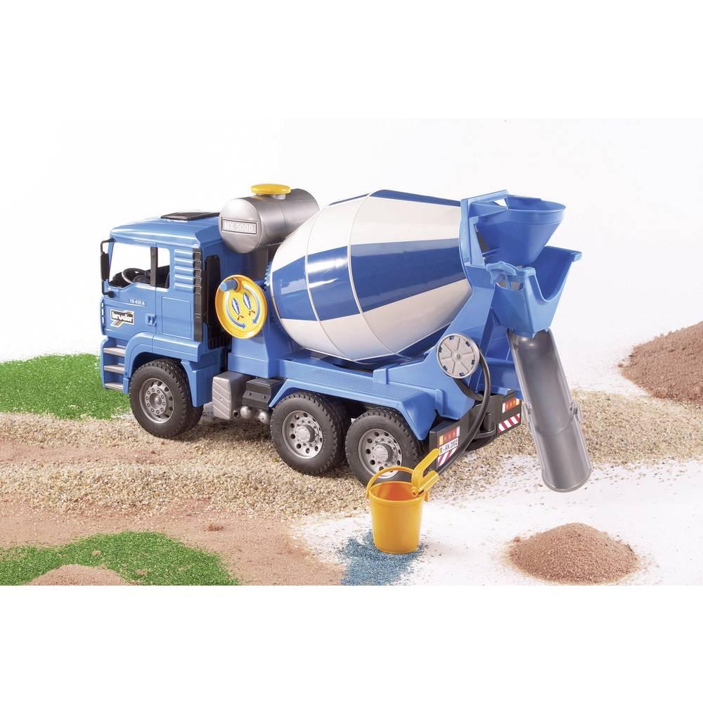 bruder Nákladní automobily se míchačkou betonu