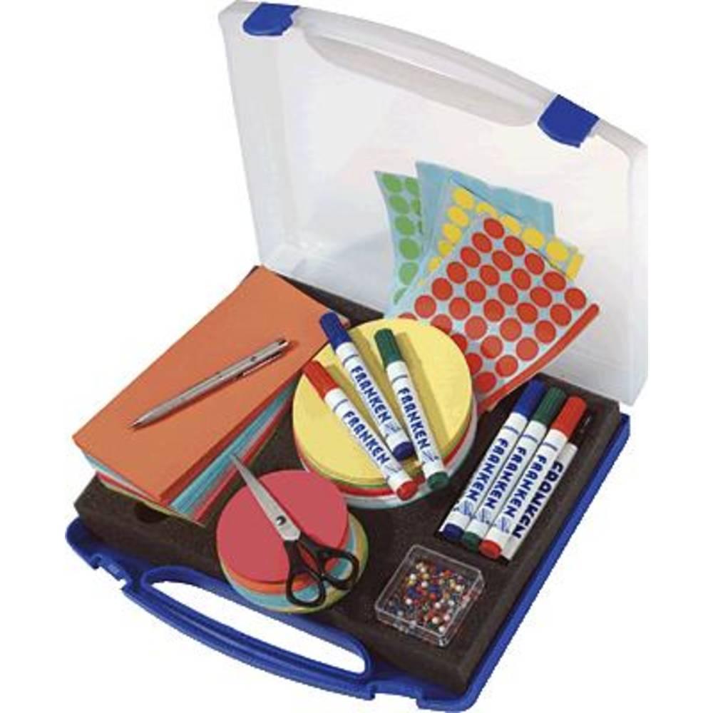 Franken MINI moderační kufřík plast počet dílů: 1100 31 cm x 6 cm x 34.5 mm modrá, transparentní