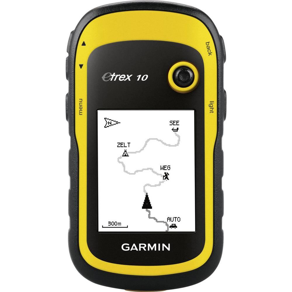 outdoorová navigace geocaching, turistika Garmin e-Trex10 svět GPS , GLONASS , chráněné proti stříkající vodě