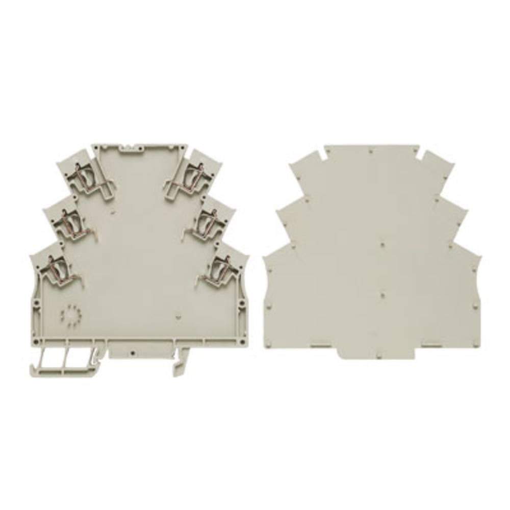 Weidmüller MHZ 6 základní prvek pouzdra na DIN lištu 10 ks